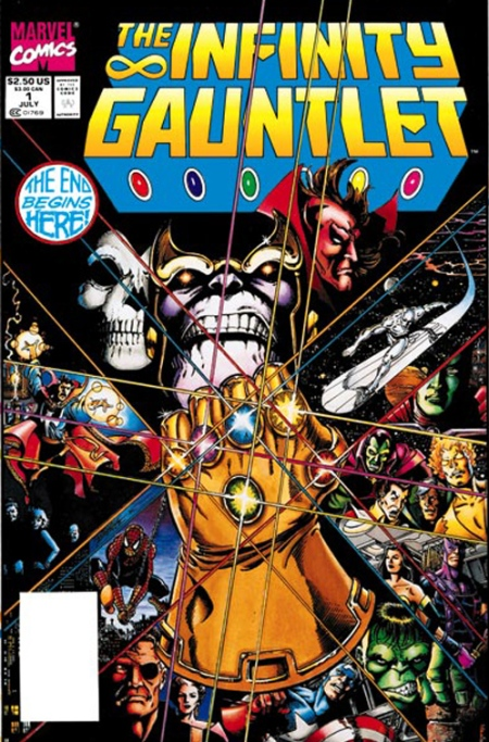 Infinity Guantlet #1 Cover