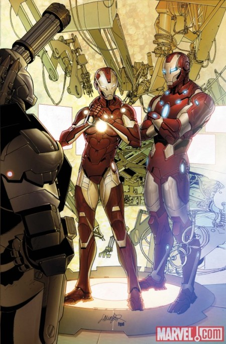 Invincible Iron Man #29 Cover