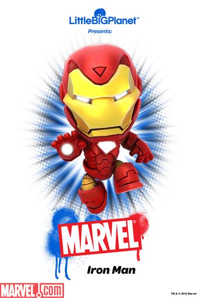 Iron Man LittleBigPlanet