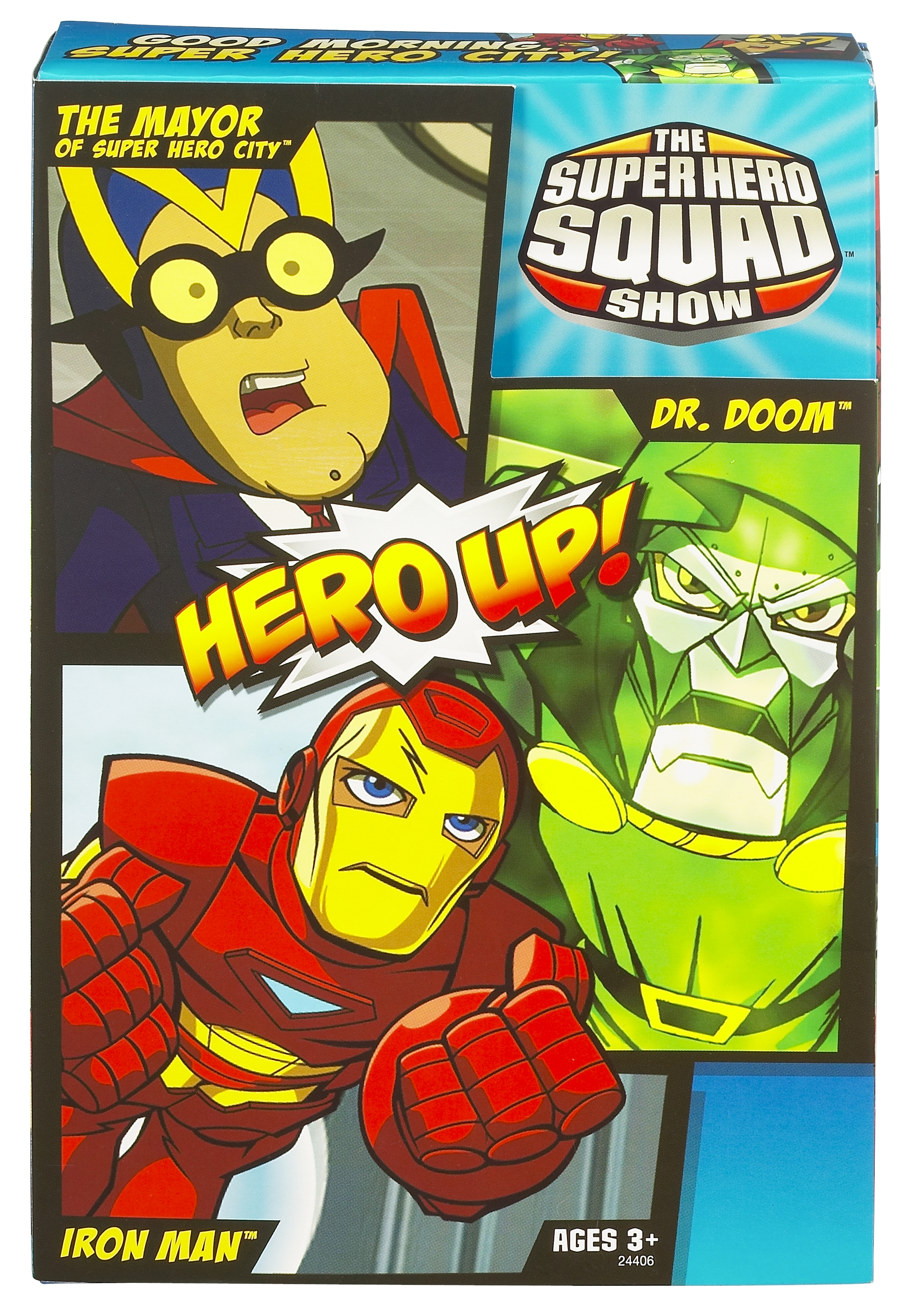 Marvel super hero squad 3 pack special edition