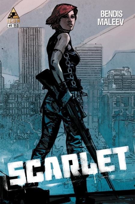 SCARLET #1 2nd Printing