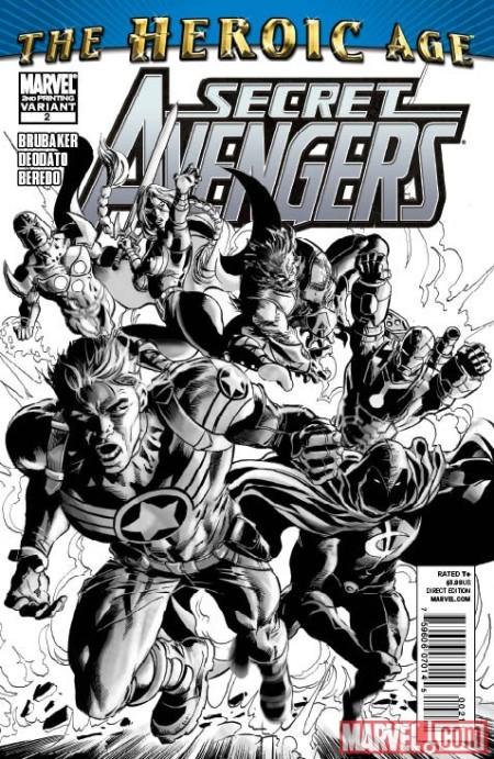 Secret Avengers #2 2nd Printing