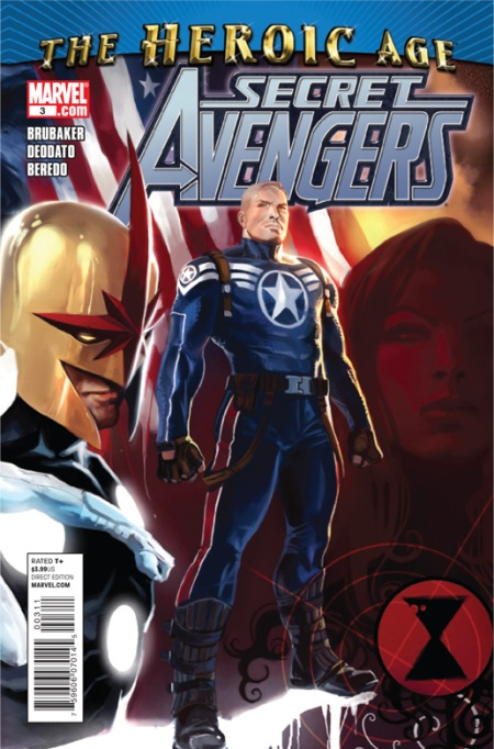 Secret Avengers #3 Cover
