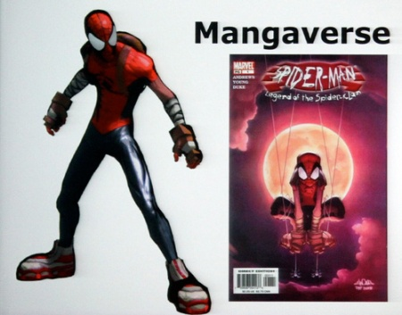 Shattered Dimensions Mangaverse