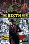 SIXTH GUN #1 - COVER