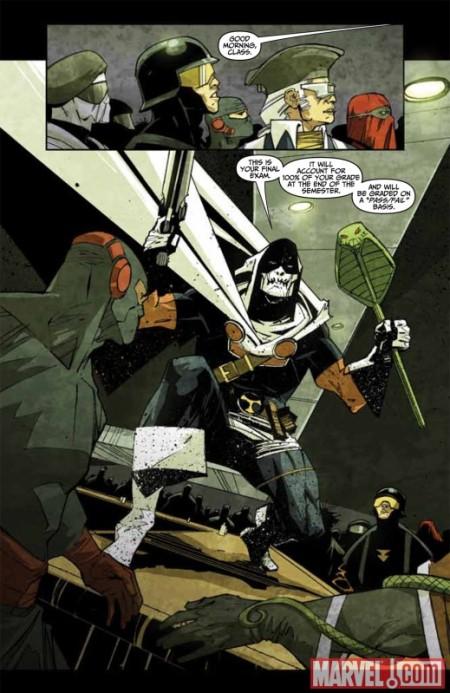 Taskmaster #1 Preview5