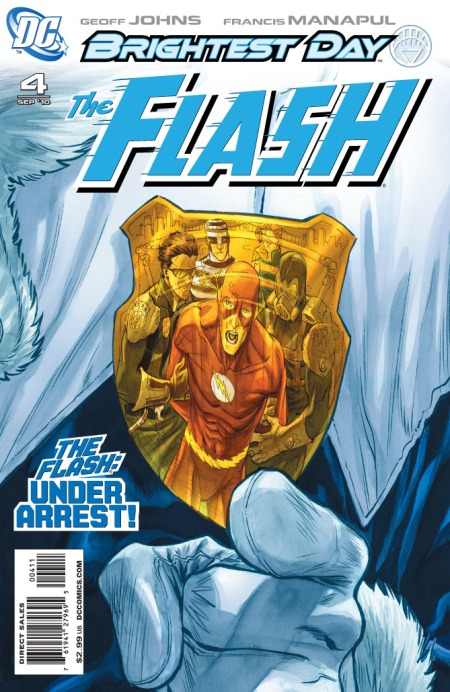 The Flash #4 Cover