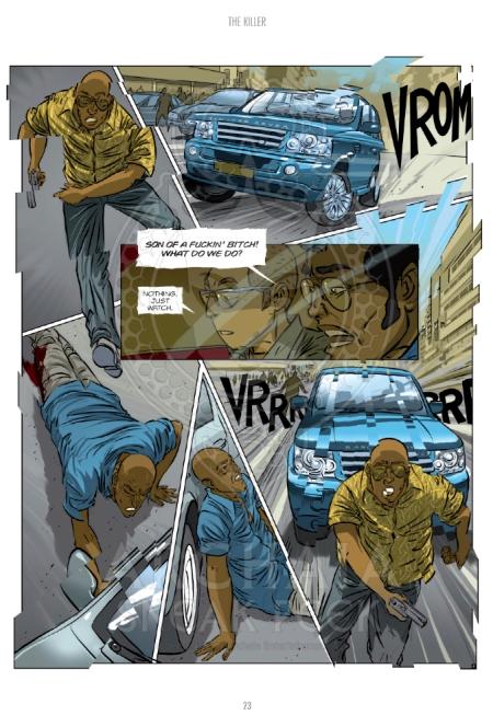 The Killer - Modus Vivendi #4 Preview_PG4