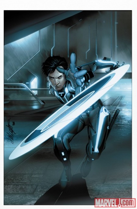 Tron The Betrayal #1 Cover
