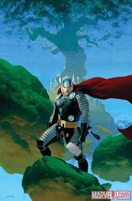 Astonishing Thor #1 Cover
