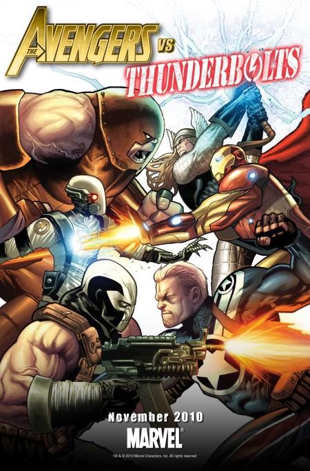 Avengers vs Thunderbolts