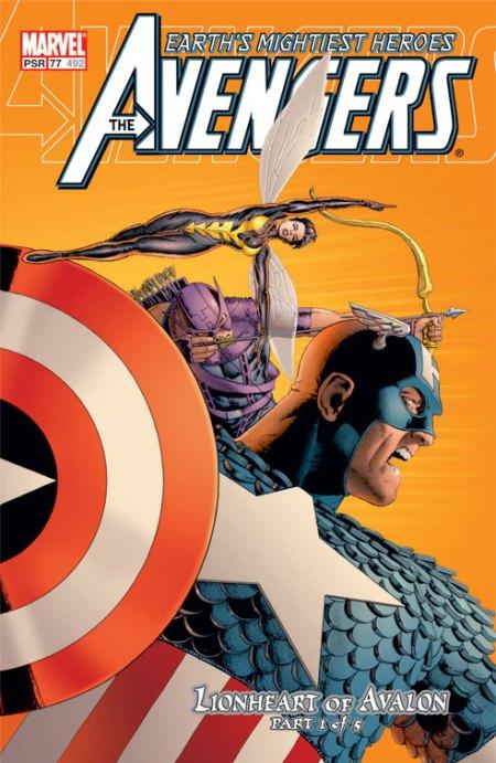 Avengers #77 cover