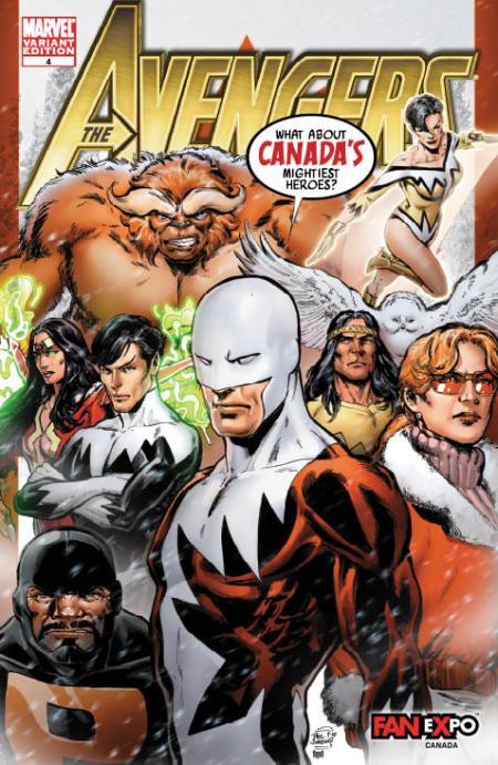 Avengers #4 Fan Expo Variant