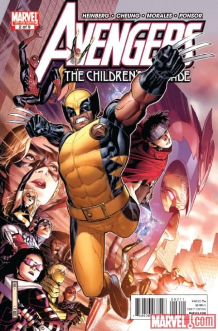 Avengers: Children's Crusade #2 Cover