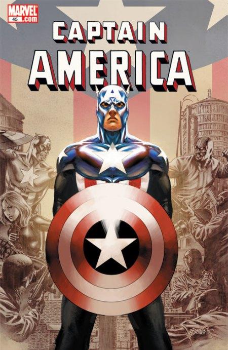 Captain America #45