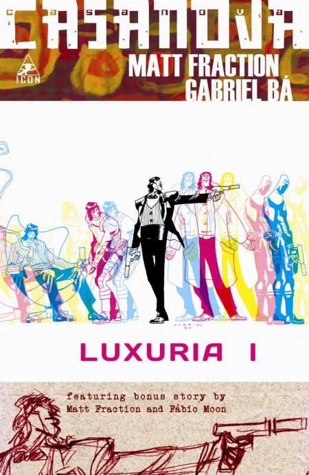 Casanova #1 2nd Printing