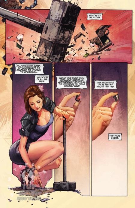 Cyberforce Hunter/Killer TPB Volume 1 Page_01