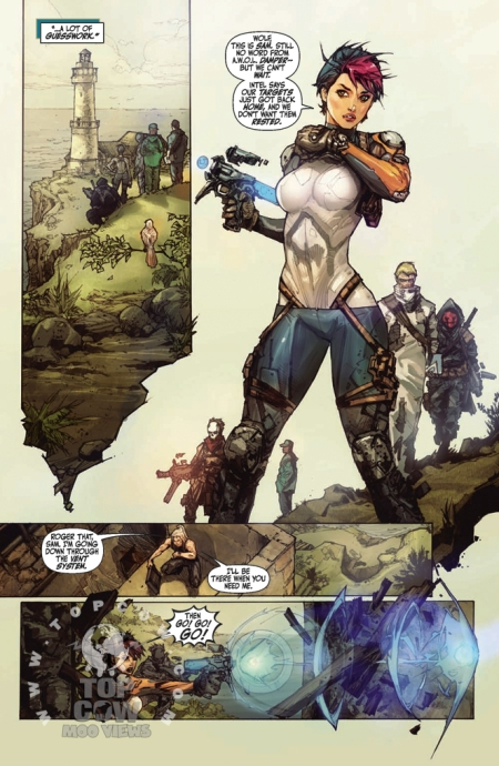 Cyberforce Hunter/Killer TPB Volume 1 Page_11