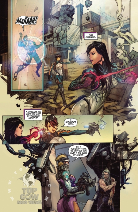 Cyberforce Hunter/Killer TPB Volume 1 Page_20
