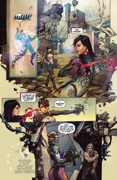 Cyberforce Hunter/Killer TPB Volume 1 Page_20