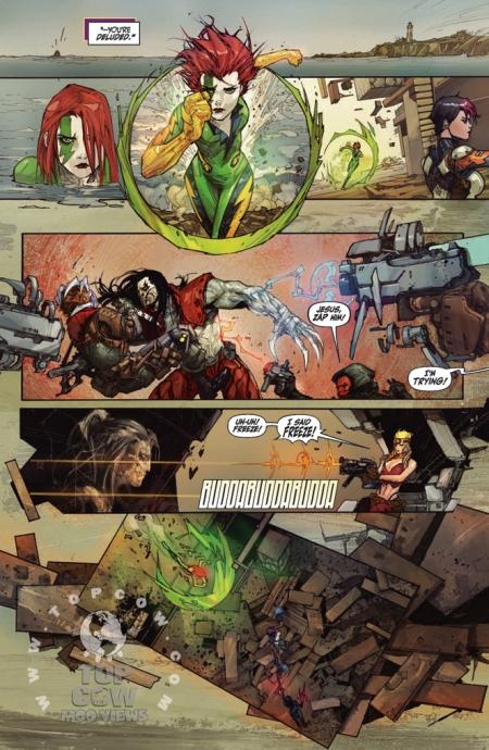 Cyberforce Hunter/Killer TPB Volume 1 Page_22