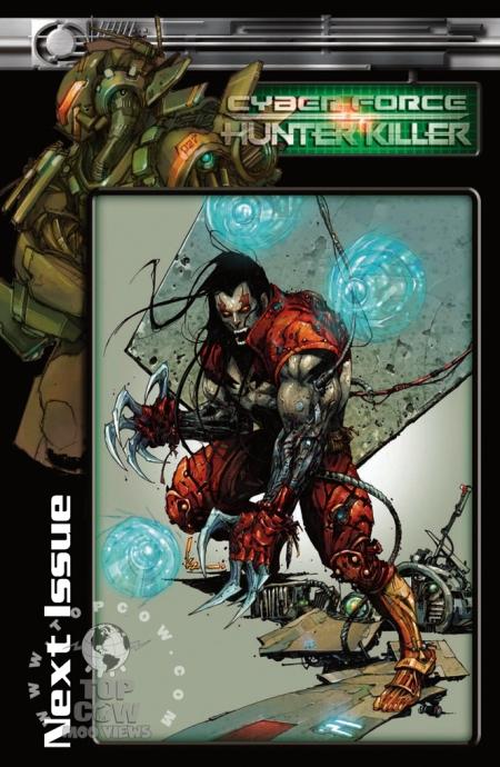 Cyberforce Hunter/Killer TPB Volume 1 Page_25