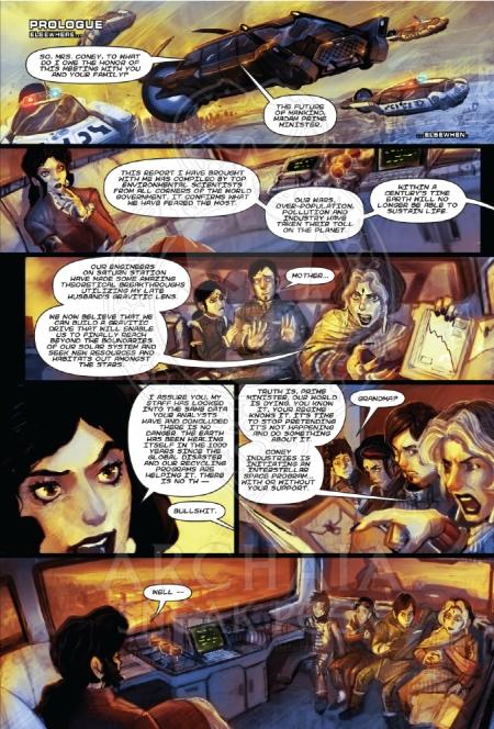 Critical Millennium #2 PreviewPG1