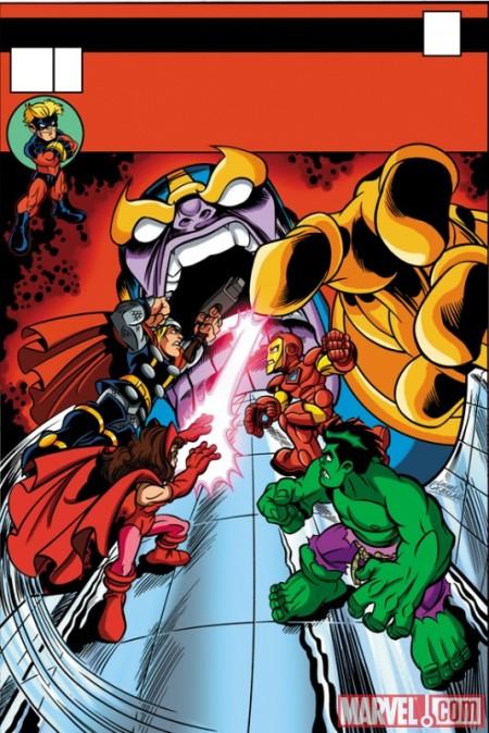 Daredevil #510 Super Hero Squad Variant Cover