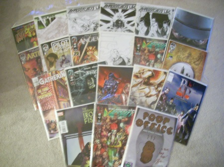 Baltimore Comic Con goodies
