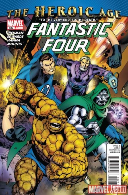 Fantastic Four #582