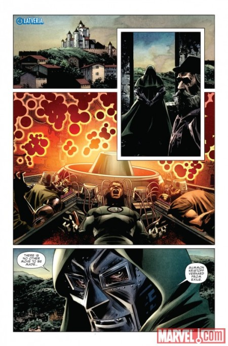 Fantastic Four #583 PREVIEW1