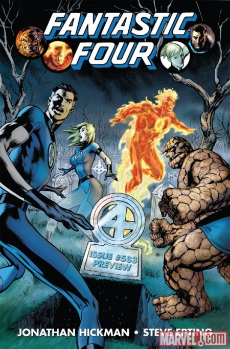Fantastic Four #583 PREVIEW COVER