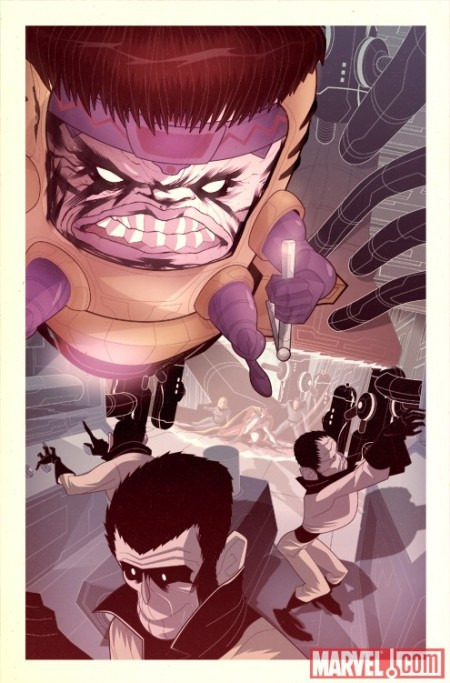 Fantastic Four In... Ataque Del M.O.D.O.K. #1 PREVIEW2