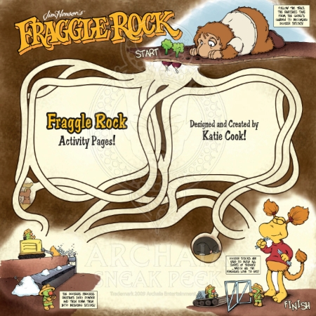 Fraggle Rock Vol 1 HC PREVIEWPG12