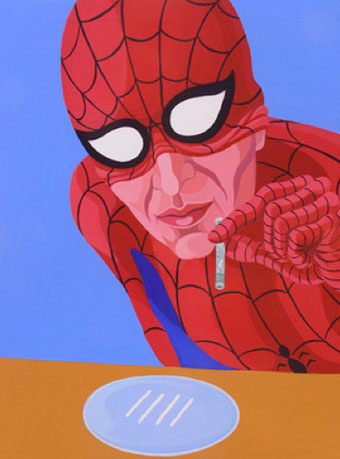 Giuseppe Veneziano Spider-Man coke
