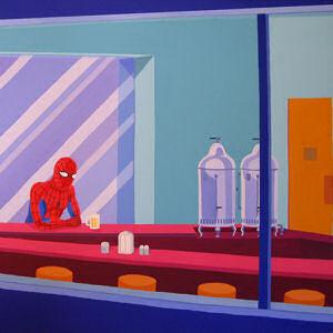 Giuseppe Veneziano Spider-Man Diner