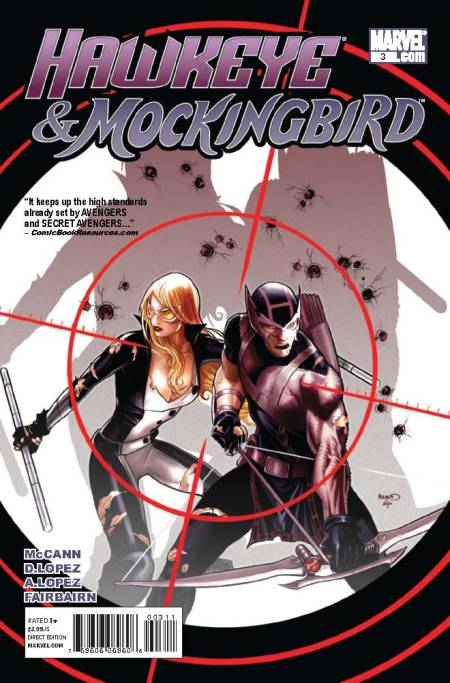 Hawkeye and Mockingbird #3