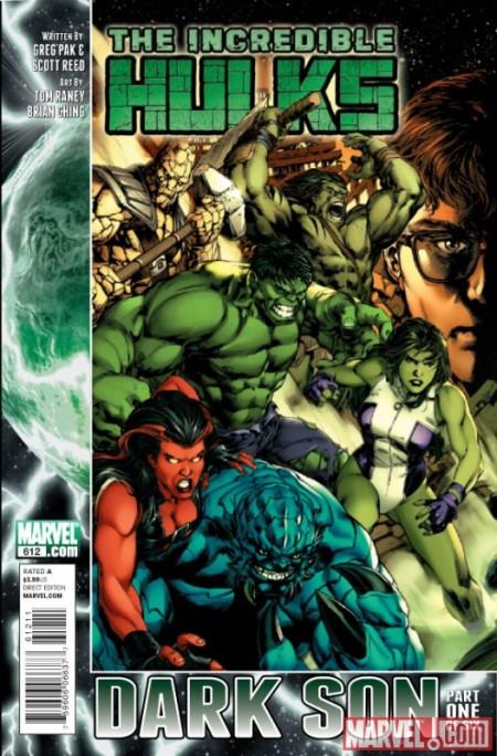 Incredible Hulks #612 Cover