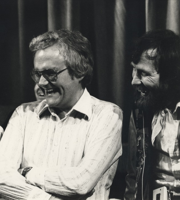 Jerry Juhl and Jim Henson