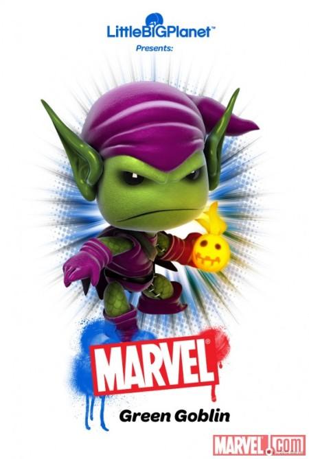 LittleBigPlanet Green Goblin