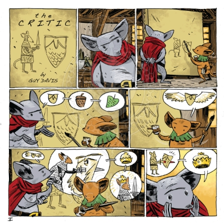 Mouse Guard - Legends of the Guard #3 PREVIEW PG3 Davis