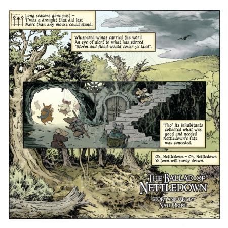Mouse Guard - Legends of the Guard #3 PREVIEW PG4 Pride