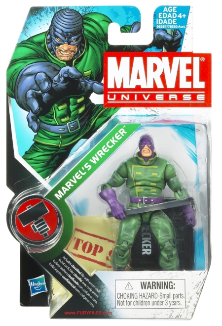 MVL Marvel's Wrecker Packaging