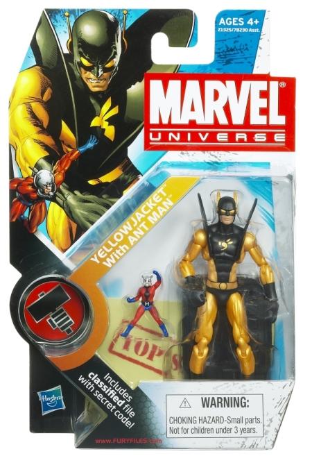 MVL Yellow Jacket Ant Man Packaging