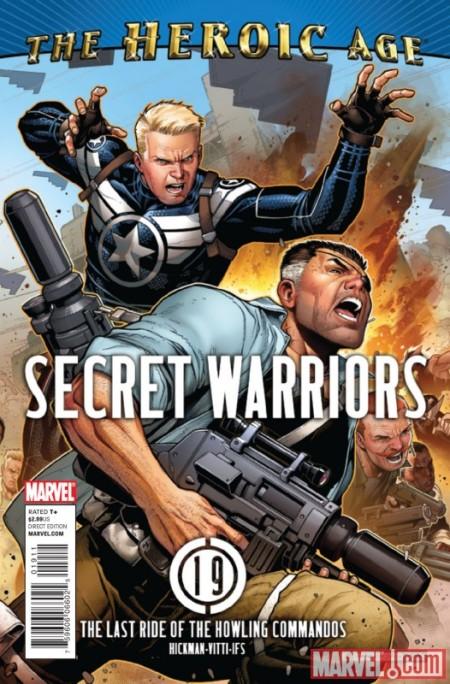 Secret Warriors #19