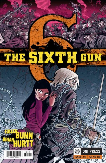 Sixth Gun #3 (Cover)