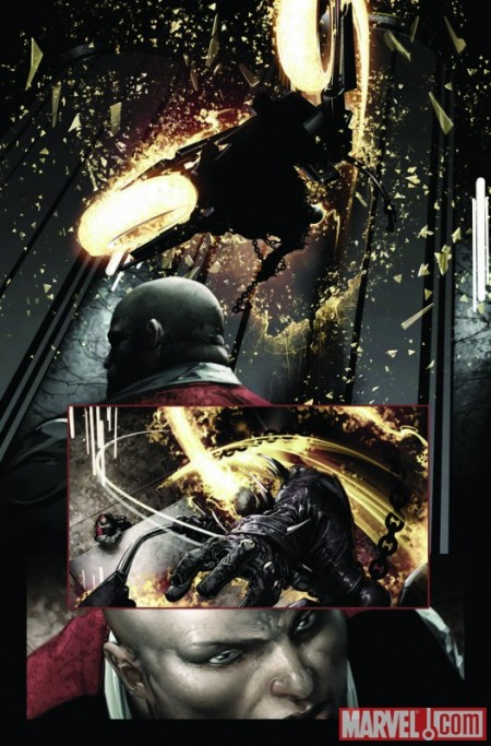 Shadowland: Ghost Rider #1 Preview2