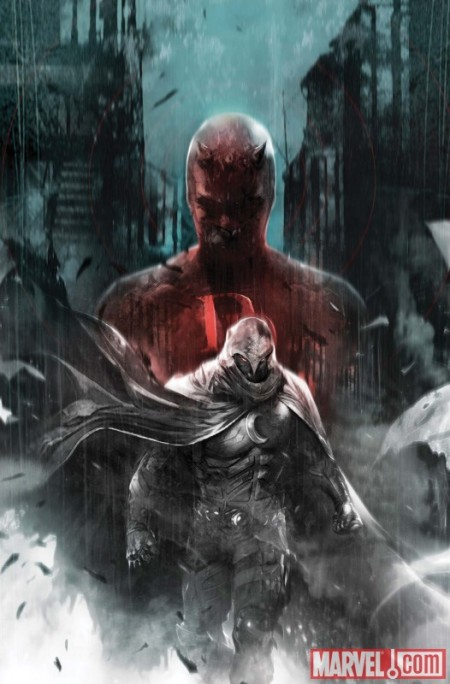 Shadowland: Moon Knight #1 COVER