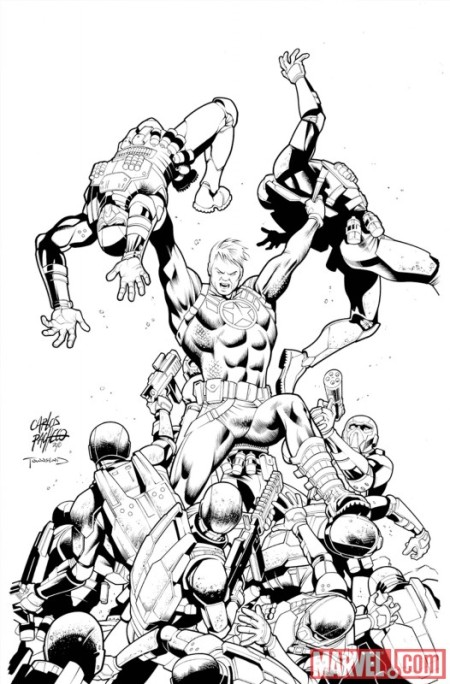 Steve Rogers: Super-Soldier #2 2nd Printing
