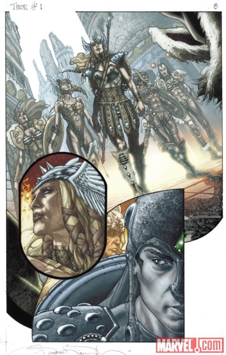 Thor: For Asgard #1 Preview3